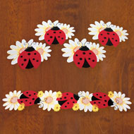 Ladybug and Daisy Table Linens - 38800