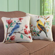Lovely Bird Accent Pillow Covers - Set of 2 - 38877