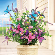 Butterfly Bushes Floral Picks- Set of 3 - 38966