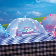 Lighted Food Mesh Tents - Set of 3 - 38983