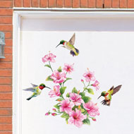Hummingbird Garden Garage Door Magnets - 39130