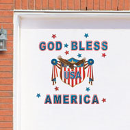 God Bless America Garage Door Magnets - 39134