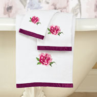 Bonita Colorful Flowers Towel Set - 39195