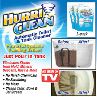 HurriClean Toilet Cleaning Stain Remover