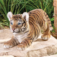 Tiger on the Prowl Garden Figurine - 39236