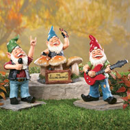 The Rolling Gnomes Garden Figurines - 3pc - 39290