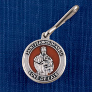 St. Francis of Assisi Cat Collar Tag - 39333