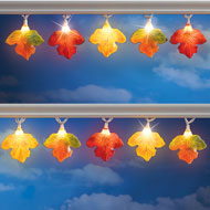 Colorful Autumn Leaves Light String - 39358