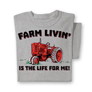 Farm Livin Novelty Tee