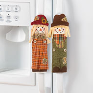 Autumn Scarecrow Appliance Covers - 3pc - 39497