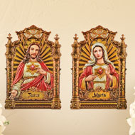 S/2 Mary and Jesus Wall Decal - 39598