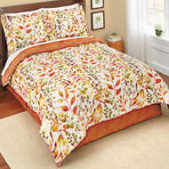 Autumn Willow Trees Comforter Set - 39793