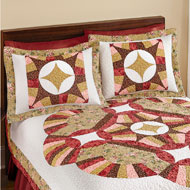 Mercury Patchwork Pinwheel Pillow Sham - 39797