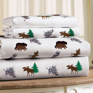 Woodland Animals Bed Sheet Set