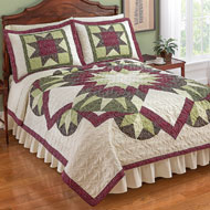 Geometric Bright Star Quilt - 39815