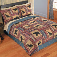 Woodland Scenic Lodge Comforter Set - 39817