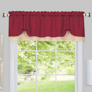Darcy Two-Tone Window Valance - 39861