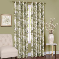 Tranquil Trees Insulated Curtain Panel - 39863