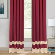 Darcy Two-Tone Curtain Panel - 39865