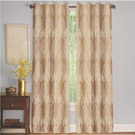 Imperial Lace Embroidered Grommet Curtain Panel - 39867