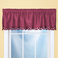 Elegance Scroll Cut-out Window Valance - 39868