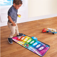 Interactive Rainbow Piano Floor Mat - 39878