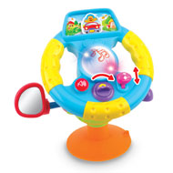 Interactive Steering Wheel Baby Toy