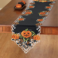 Halloween Pumpkins Table Runner / Topper - 39913