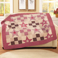 Patchwork Country Star Throw - 39958