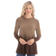 Dip Dyed Ombre Sweater - 40145