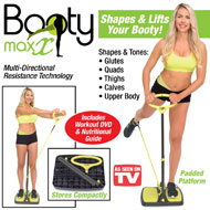 Booty Max Exercise Resistance Band with DVD - 40153