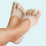 Therapeutic Heel Gel Toe Socks
