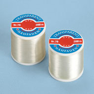 Transparent Sewing Thread Spools- Set of 2 - 40212