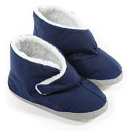 Men's Diabetic Relief Navy Slippers - 40244
