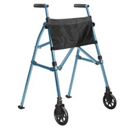 EZ Fold-N-Go Compact Walker with Pouch
