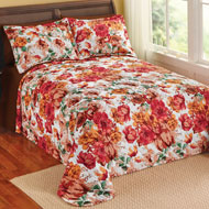 Bonneville Watercolor Floral Bedspread - 40303