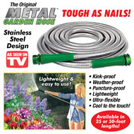 Heavy Duty Metal Garden Hose - 40371