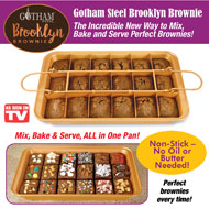 Gotham Steel Brooklyn Brownie Non Stick Pan - 40382