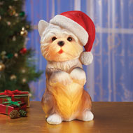 Holiday Pet Table Lamps Christmas Decoration