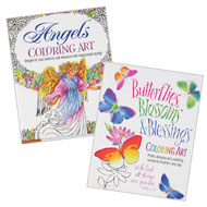 Inspirational Adult Coloring Books