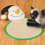 Holiday Cat Scratch Pad Toy - 40425