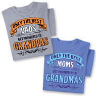 Only the Best Grandparent Tee - 40473