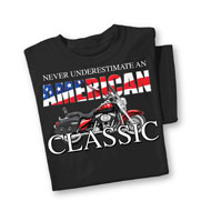 American Classic Motorcycle T-Shirt - 40475