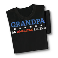 Grandpa An American Legend T-Shirt - 40476