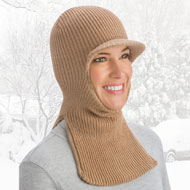 Cold Weather Face Mask Balaclava with Brim - 40593