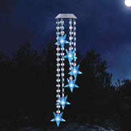 Star Wind Dangler Solar Yard Decoration - 40675