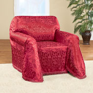 Alexandria Scroll Furniture Throw Cover - 40700