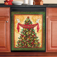 Holiday Tree Christmas Dishwasher Magnet - 40708