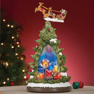 Motion Christmas Tree Tabletop Figurine - 40734