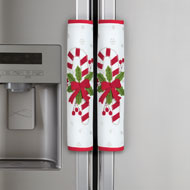 Candy Cane Appliance Handle Covers